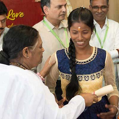 Amma celebrates International Women's Day through the education of